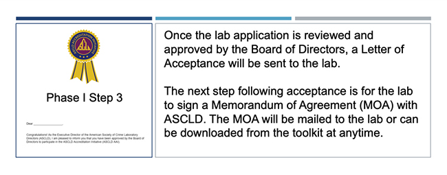 Step 3 Accreditation